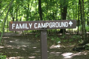 campground sign